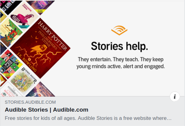 https://stories.audible.com/discovery?fbclid=IwAR1qD82k7tuiCs0YVNr48F6hvJlr0YeJ43rjA6nxPUaIftuF8wEiWNEJPWM